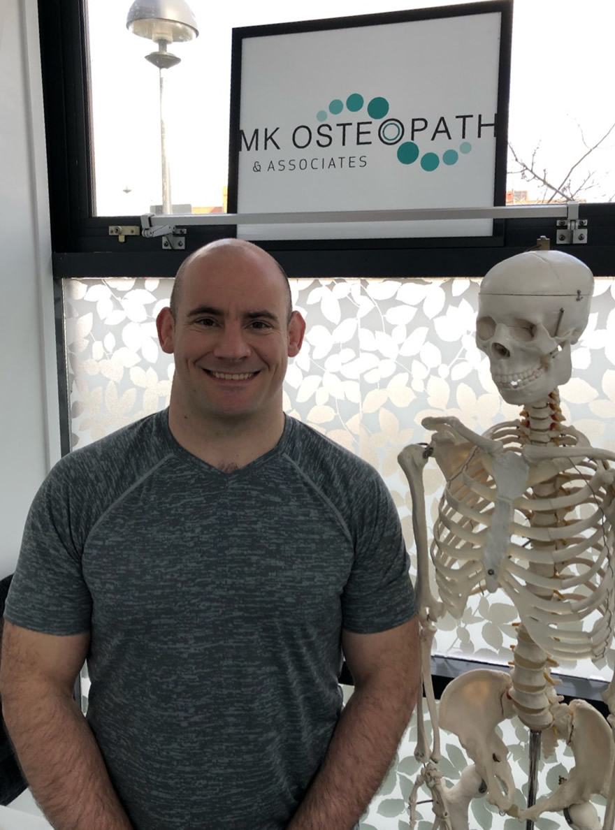Johnathan Phipps BSc Sports Massage Therapist, MK Osteopath